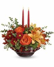 Autumn Gathering Centerpiece by Teleflora