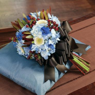 Blue Wedding Flowers