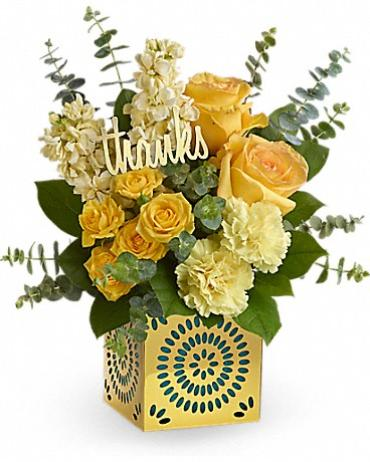 TF Shimmer Of Thanks Bouquet