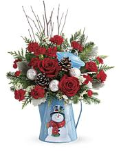 Teleflora\'s Snowy Daydreams Bouquet