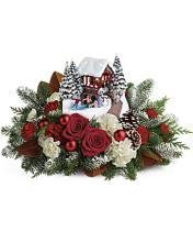 Thomas Kinkade\'s Snowfall Dreams Bouquet