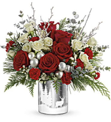 Teleflora\'s Wintry Wishes Bouquet