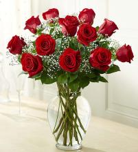 Rose Elegance Long Stem Red Roses